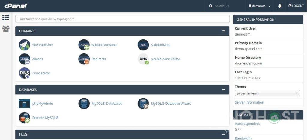 Top 3 phần mềm quản lý hosting tốt nhất hiện nay 2019 4