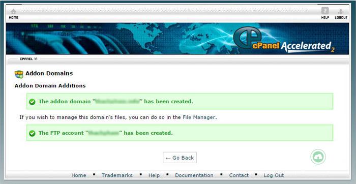 Addon domain là gì? Hướng dẫn thêm tên miền addon domain vào Host cPanel 4
