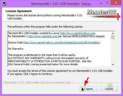 Hướng dẫn sử dụng phần mềm Test RAM Server 14
