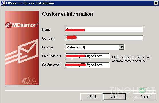 Hướng dẫn cài đặt và cấu hình Mail Server MDaemo 13