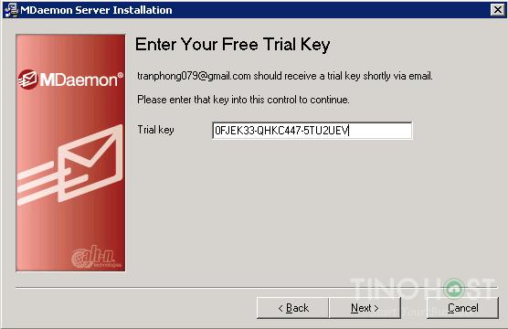 Hướng dẫn cài đặt và cấu hình Mail Server MDaemo 14