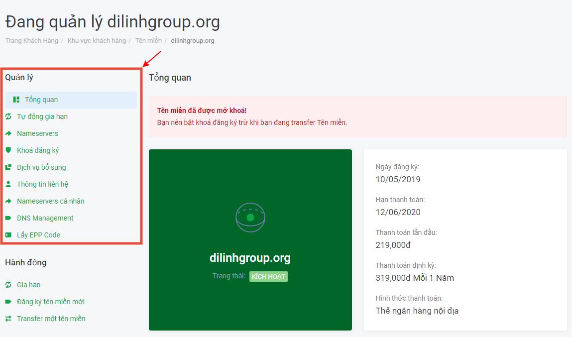 Hướng dẫn quản lý DNS tại TinoHost 9