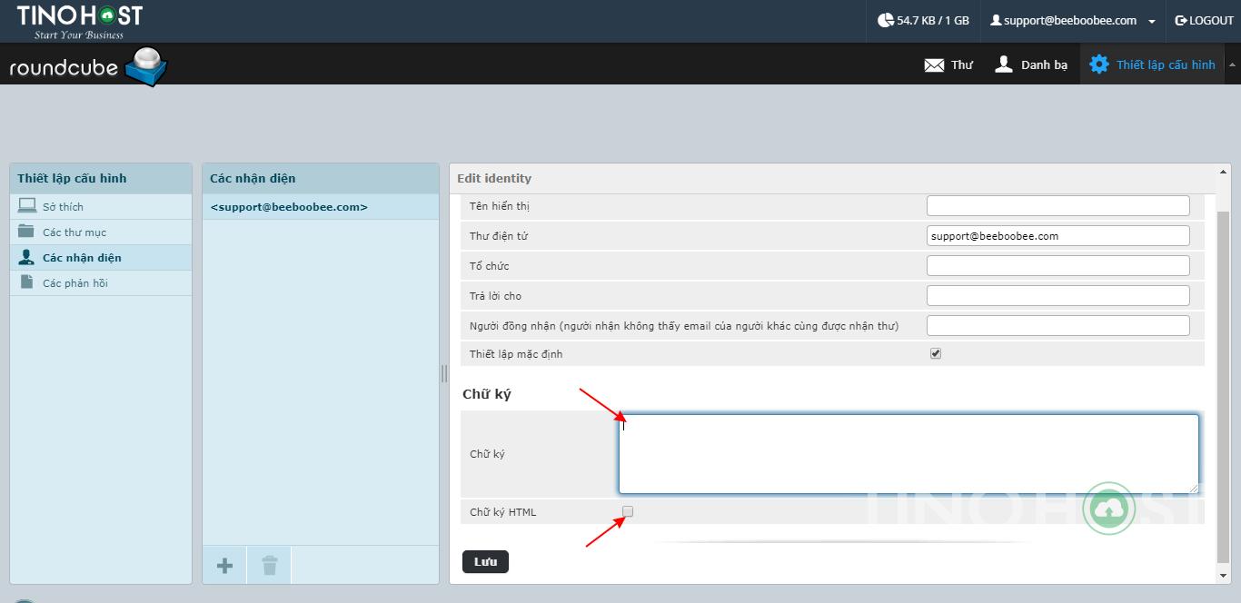 Tạo và quản lý Email Server theo tên miền. 18