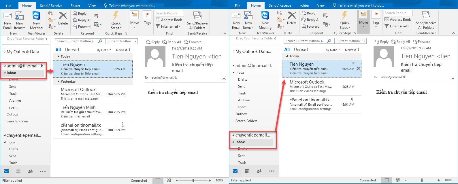 Hướng dẫn sử dụng chức năng Forwarders (Chuyển tiếp) trên Email Hosting 8
