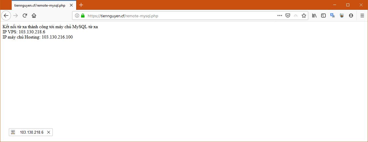 [cPanel] - Hướng dẫn sử dụng chức năng Remote MySQL® trên Hosting cPanel 16