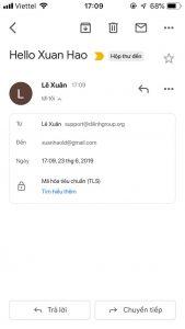Hướng dẫn cấu hình Email doanh nghiệp trên phần mềm Mail trên IOS 18