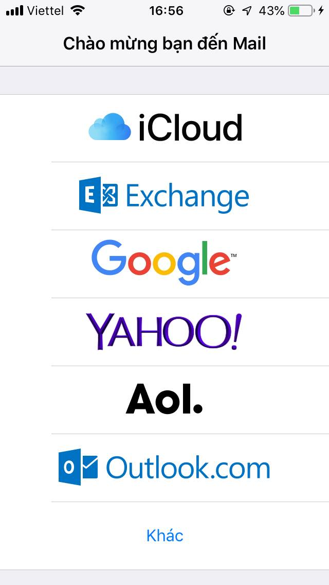 Hướng dẫn cấu hình Email doanh nghiệp trên phần mềm Mail trên IOS 14