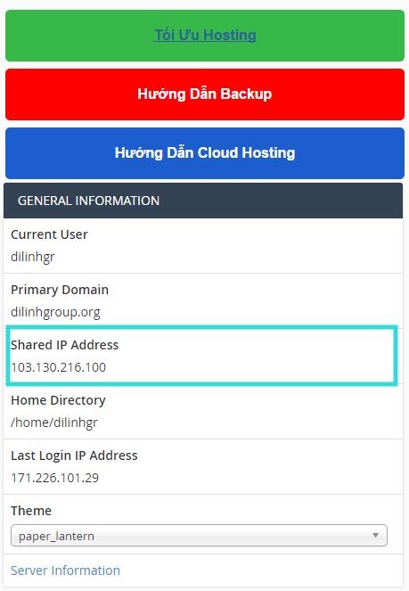 Tên miền của mình hiện tại đang quản lý tại nhà cung cấp dịch vụ tên miền khác, mình muốn sử dụng Hosting tại TinoHost thì khi đăng ký dịch vụ chọn như nào ? 6