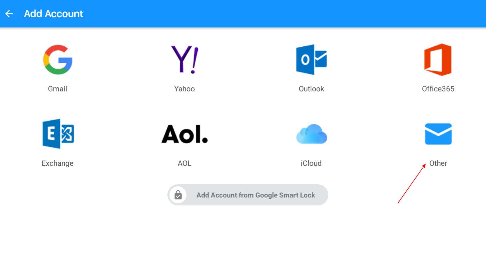 Hướng dẫn cấu hình Email doanh nghiệp trên phần mêm Google Mail trên Android 11