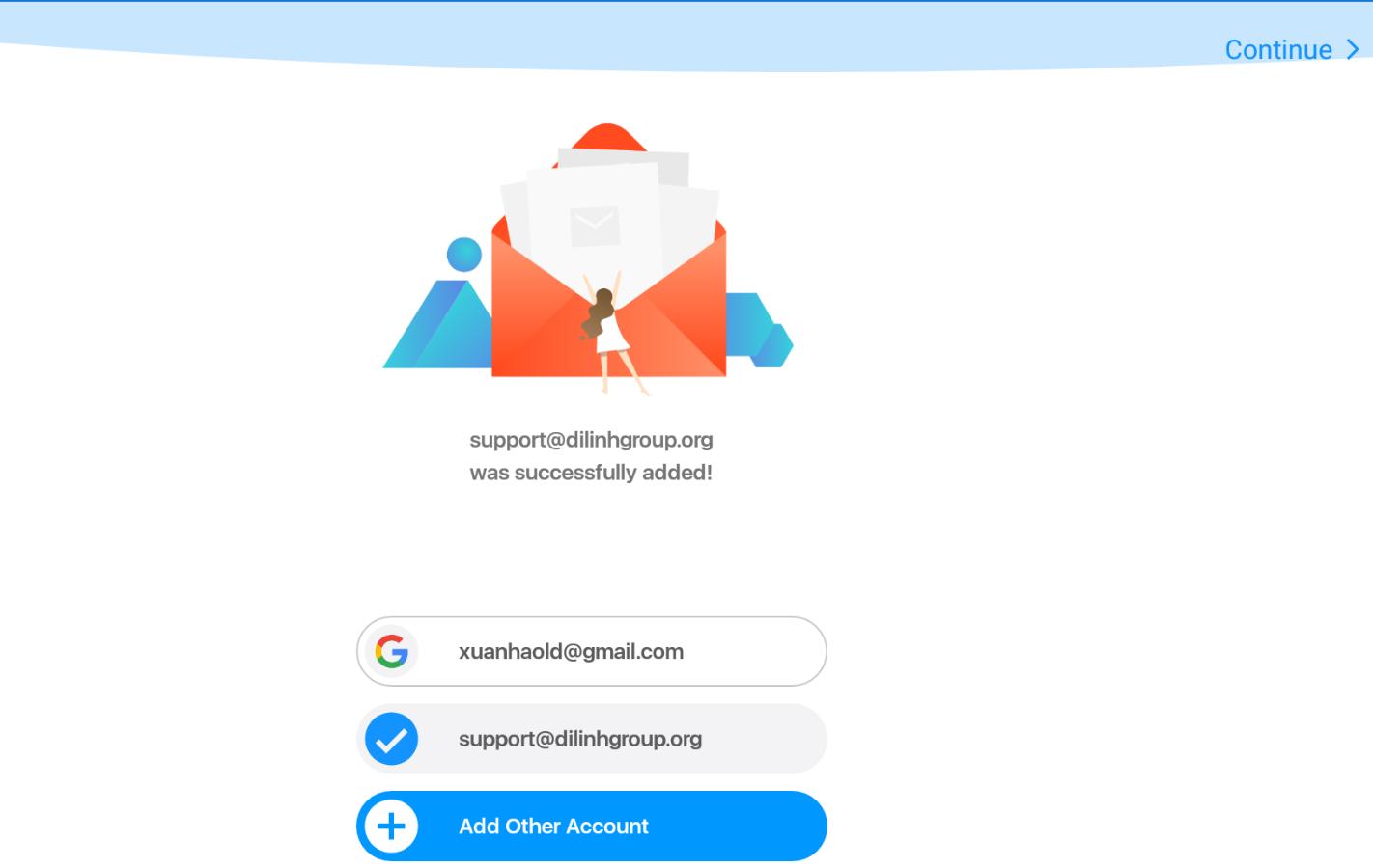 Hướng dẫn cấu hình Email doanh nghiệp trên phần mêm Google Mail trên Android 7