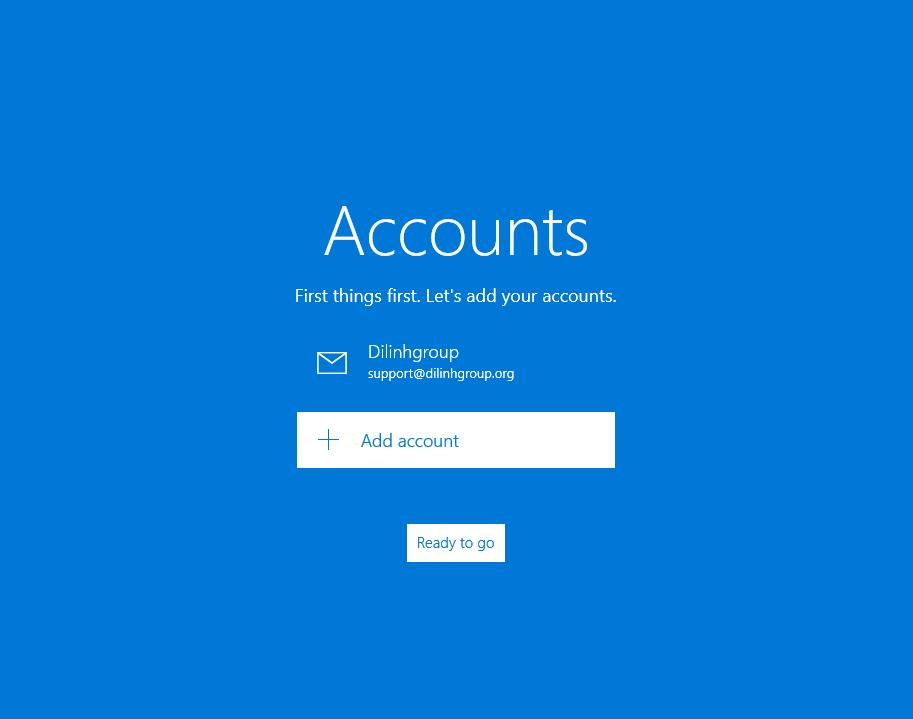 Hướng dẫn cấu hình Email doanh nghiệp trên phần mềm email Email trên Windows 10 22