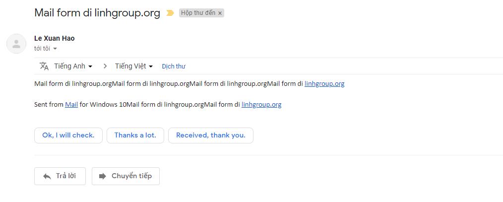 Hướng dẫn cấu hình Email doanh nghiệp trên phần mềm email Email trên Windows 10 14