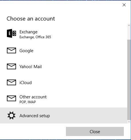 Hướng dẫn cấu hình Email doanh nghiệp trên phần mềm email Email trên Windows 10 25