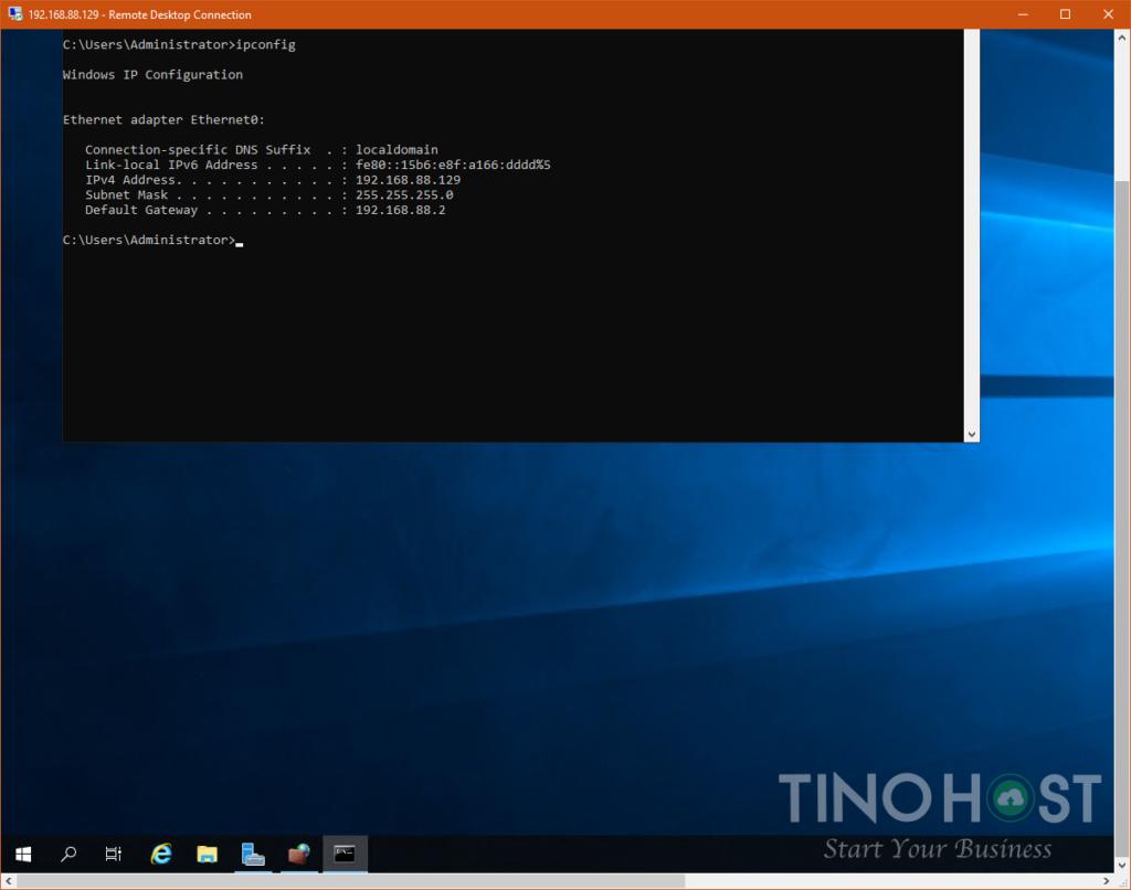 Hướng dẫn sử dụng Remote Desktop Connection để kết nối tới máy chủ trên Windows 10 2