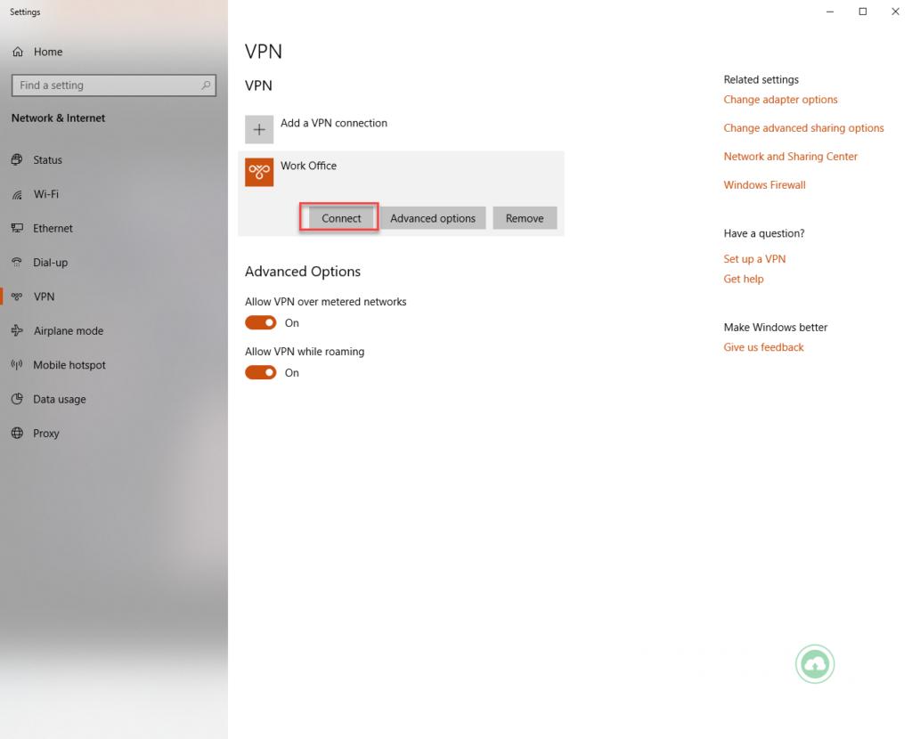 Hướng dẫn tạo kết nối VPN trên máy tính Windows 7, 8, 10 21