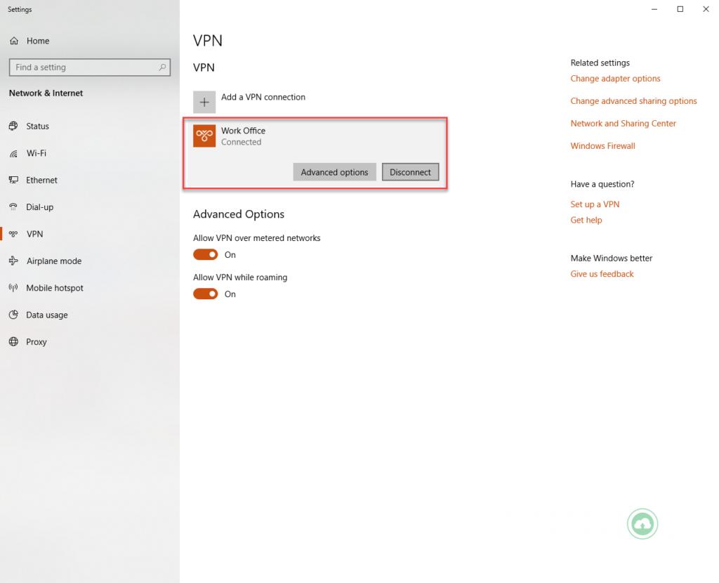 Hướng dẫn tạo kết nối VPN trên máy tính Windows 7, 8, 10 22