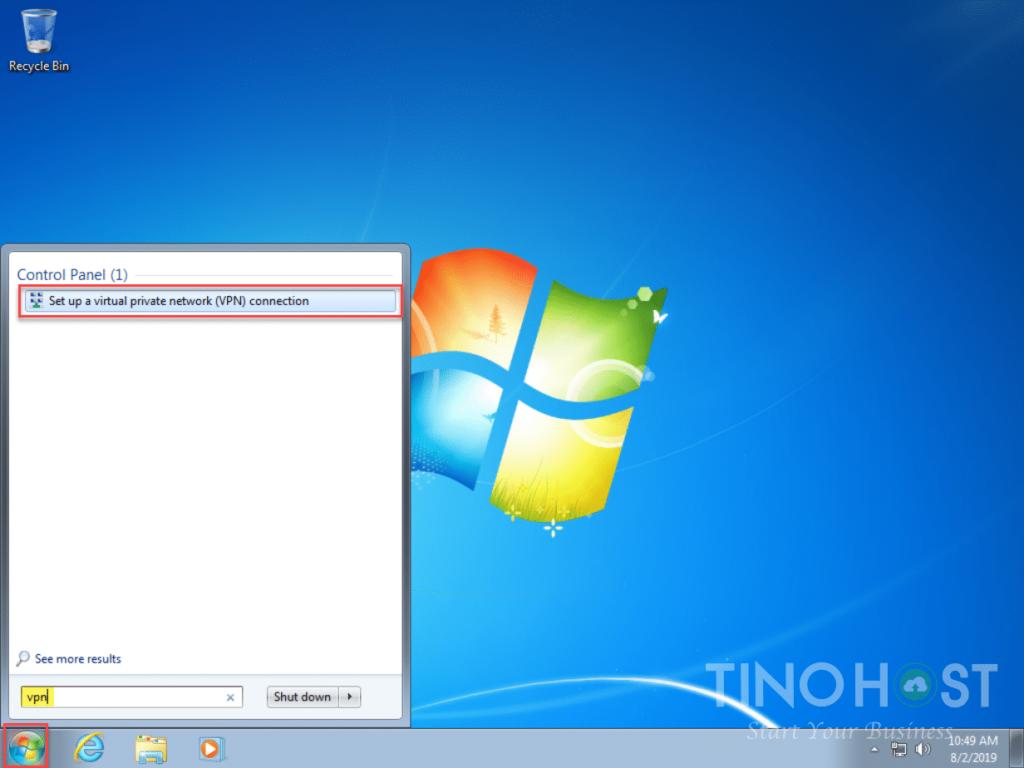 Hướng dẫn tạo kết nối VPN trên máy tính Windows 7, 8, 10 30
