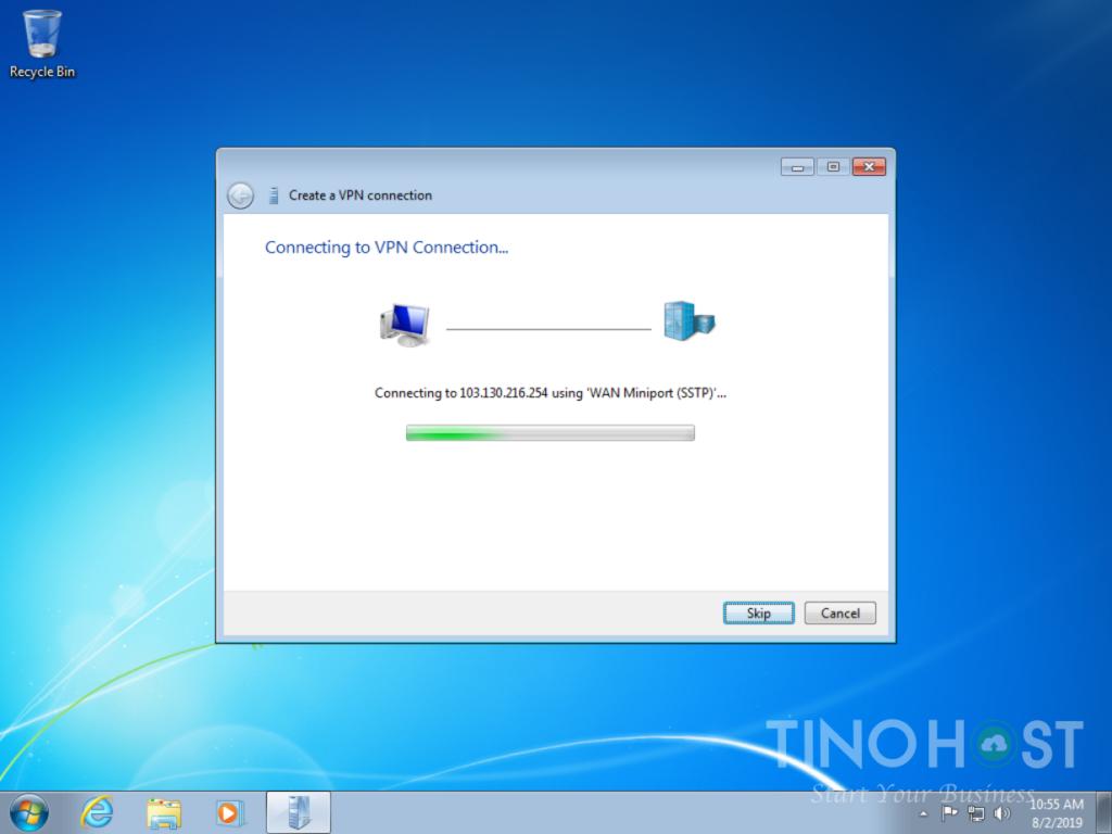 Hướng dẫn tạo kết nối VPN trên máy tính Windows 7, 8, 10 33