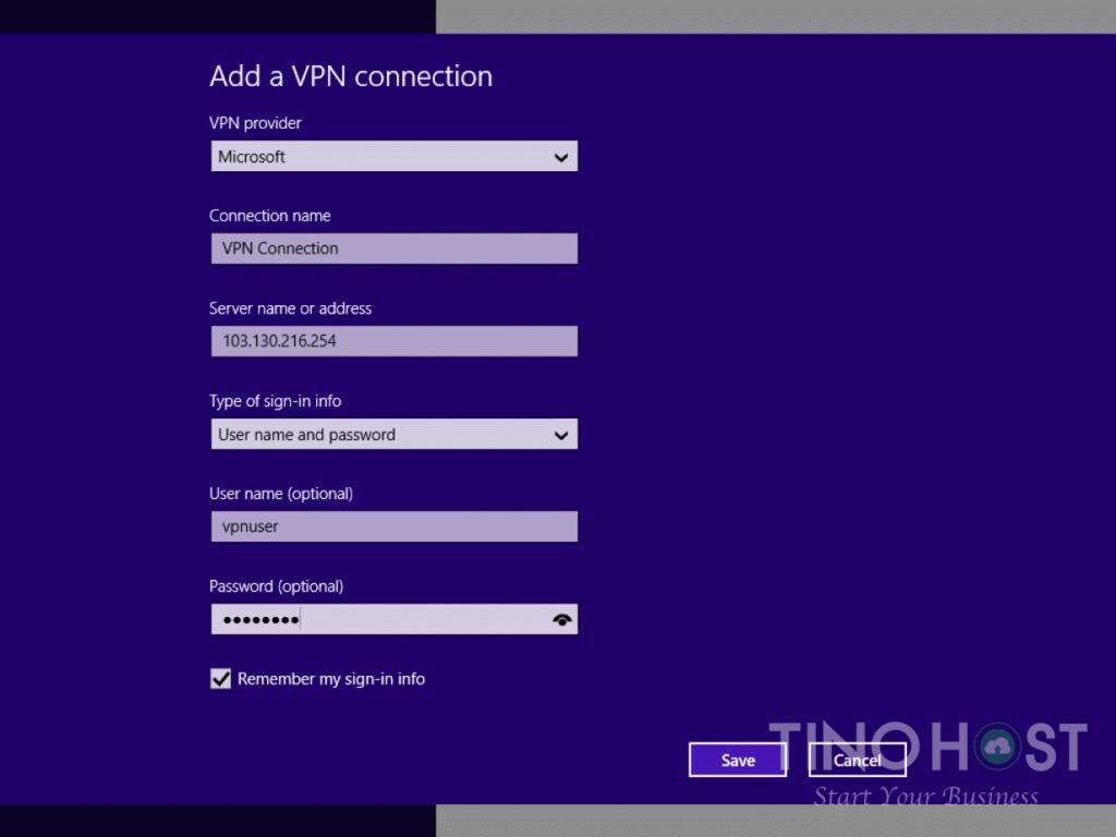 Hướng dẫn tạo kết nối VPN trên máy tính Windows 7, 8, 10 26