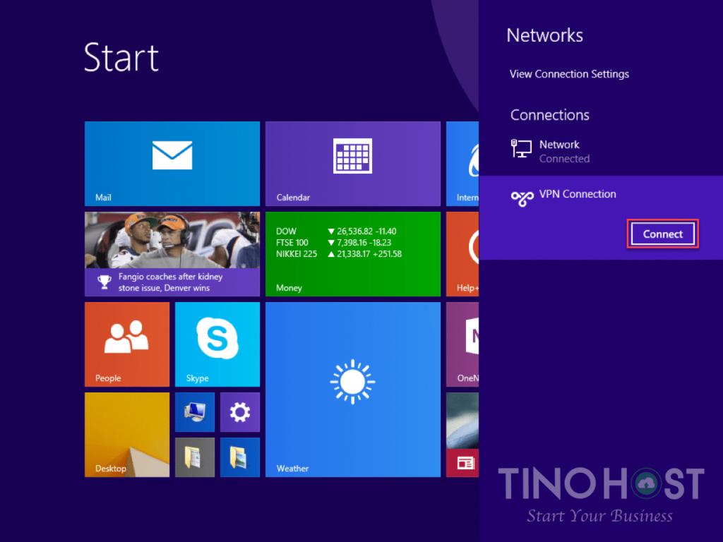 Hướng dẫn tạo kết nối VPN trên máy tính Windows 7, 8, 10 28