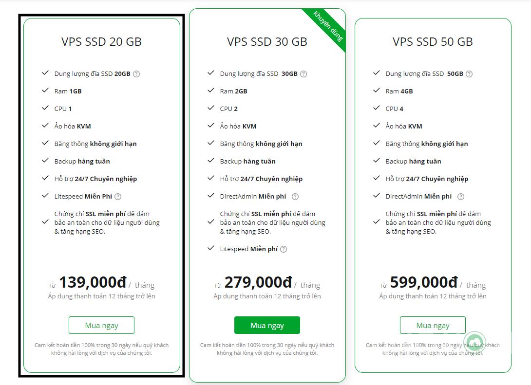 Hướng dẫn đăng ký dùng thử VPS miễn phí local Việt Nam của TinoHost 4