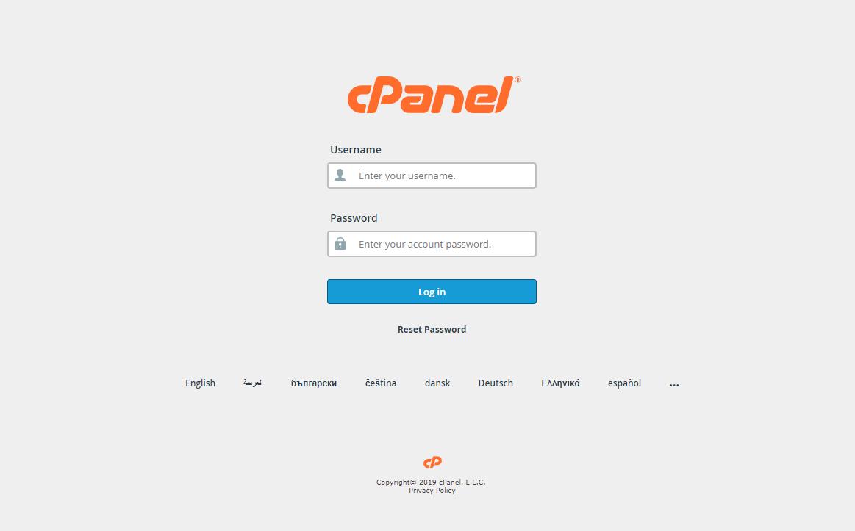 [cPanel] - Hướng dẫn truy cập bảng điều khiển cPanel 10