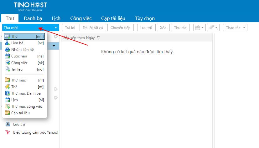 [Zimbra] Hướng dẫn soạn mail trên trang quản lý Email. 6