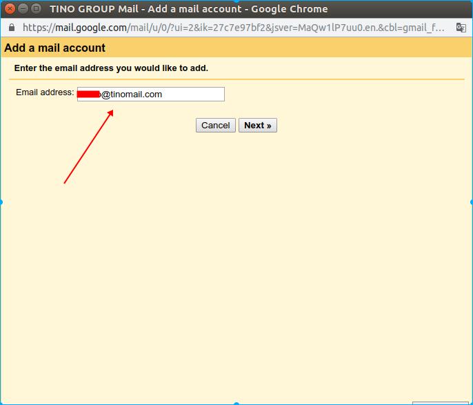 Hướng dẫn thêm tài khoản email domain vào webmail của Gmail. 13
