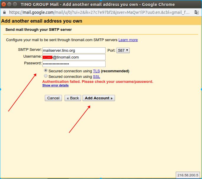 Hướng dẫn thêm tài khoản email domain vào webmail của Gmail. 16