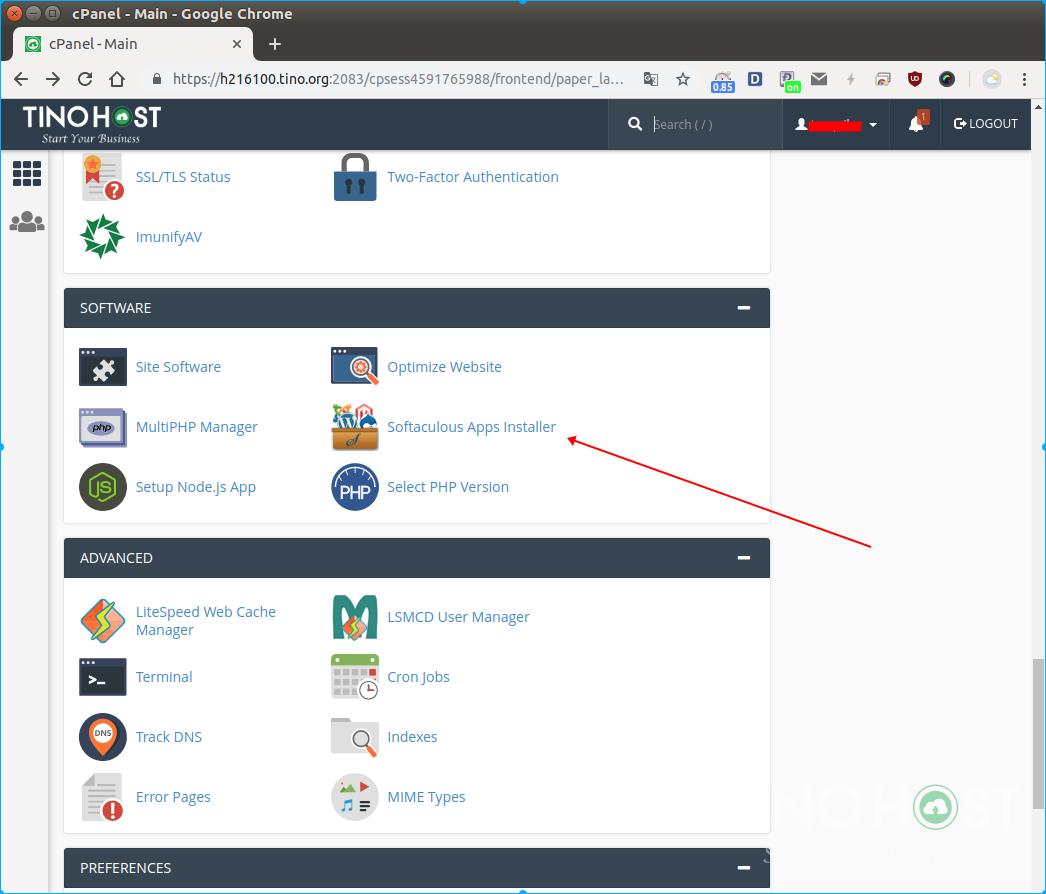 Hướng dẫn cài đặt OpenCart trên hosting cPanel 8