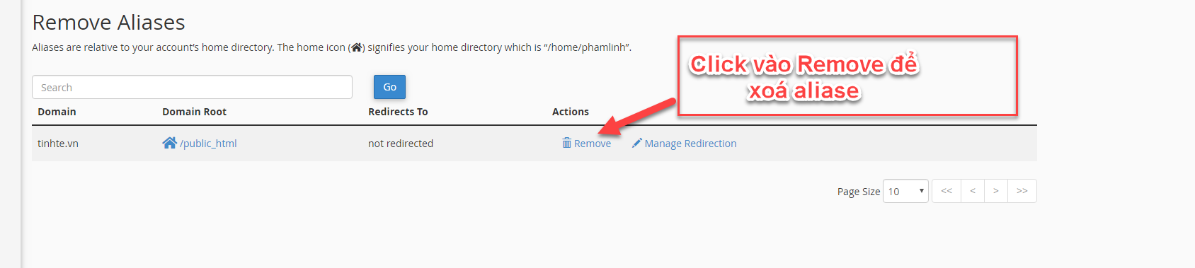 [cPanel] - Cách thêm Alias Domain (Tên miền ánh xạ) trên hosting cpanel thuộc TinoHost 2