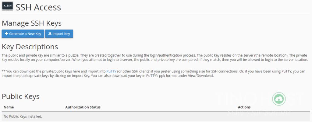 Hướng dẫn truy cập SSH vào Share Hosting Với Putty 21