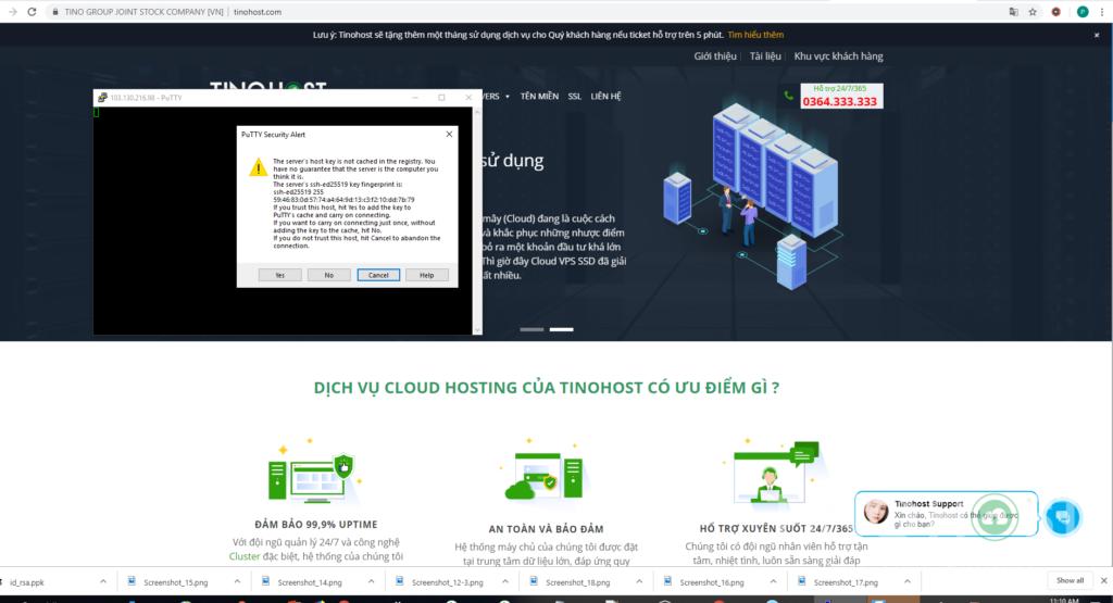 Hướng dẫn truy cập SSH vào Share Hosting Với Putty 34