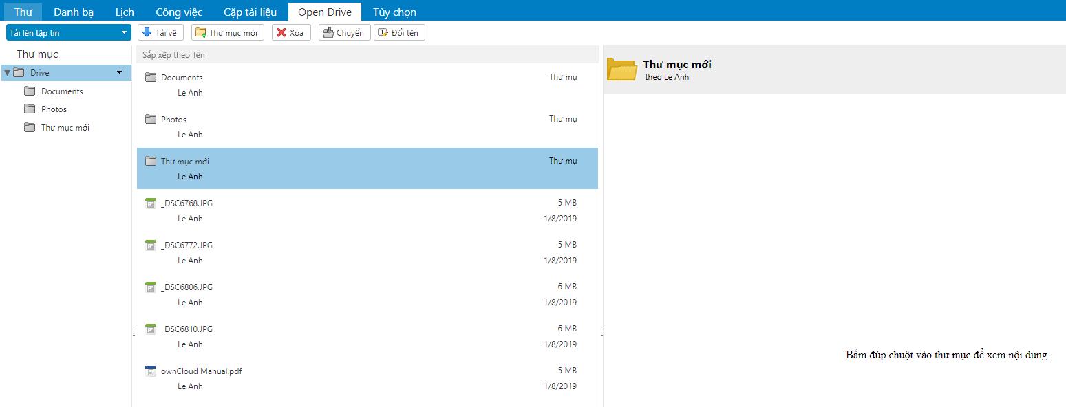 [Zimbra] Hướng dẫn thêm tài liệu và các tệp trên Mail 5