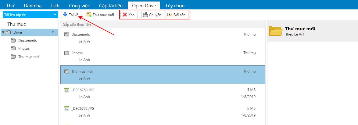 [Zimbra] Hướng dẫn thêm tài liệu và các tệp trên Mail 4