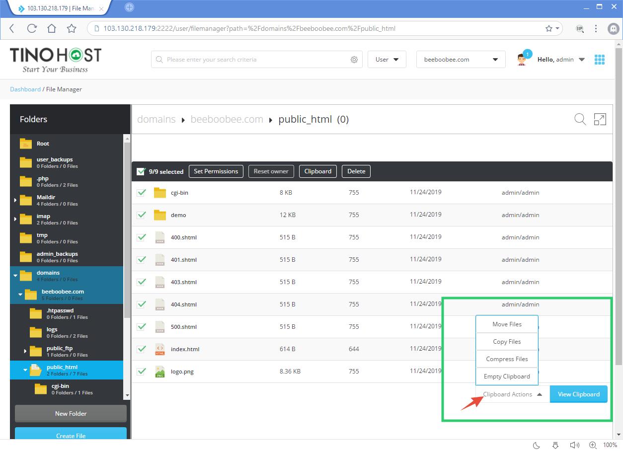 Hướng dẫn trỏ domain GoDaddy về hosting của TinoHost 1