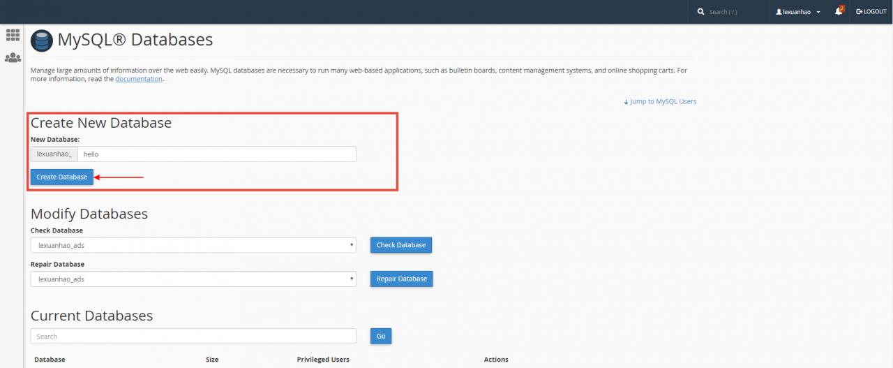 [cPanel] - Hướng dẫn cài đặt thủ công website WordPress trên Cloud Hosting 13