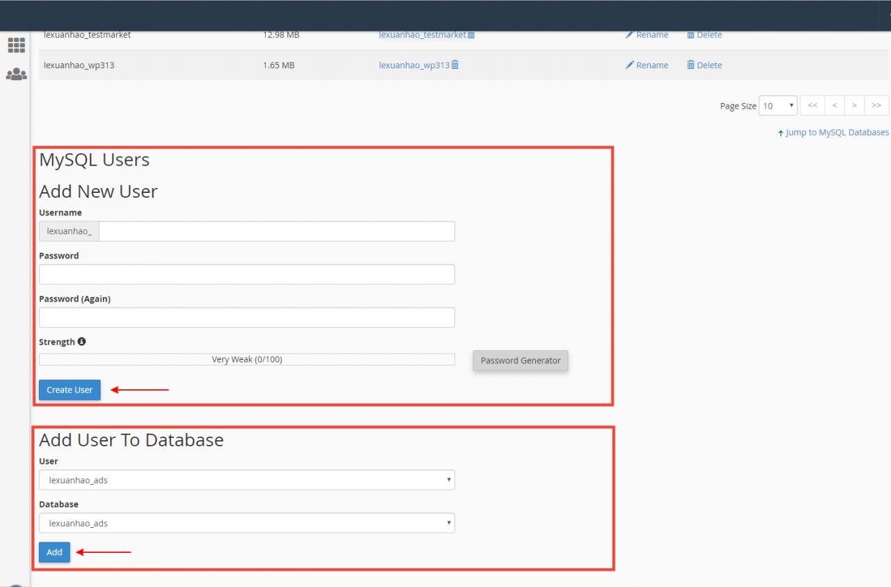 [cPanel] - Hướng dẫn cài đặt thủ công website WordPress trên Cloud Hosting 15