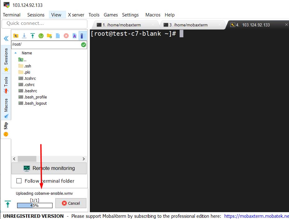 Hướng dẫn sử dụng MobaXterm để SSH vào server linux 27