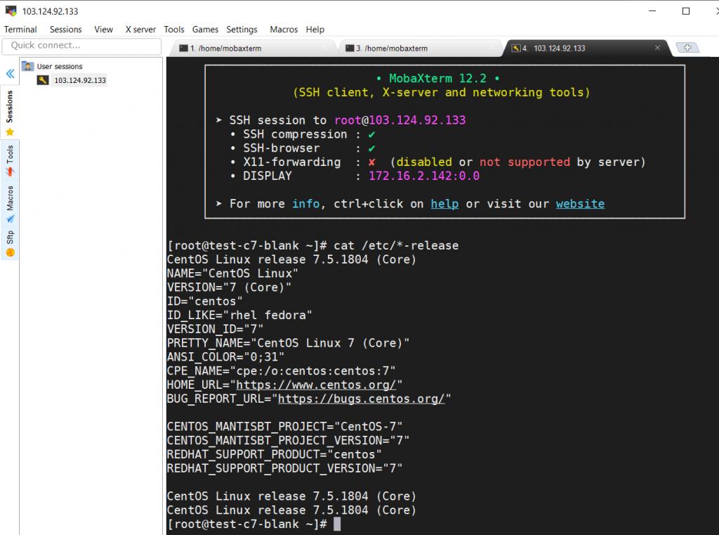 Hướng dẫn sử dụng MobaXterm để SSH vào server linux 23