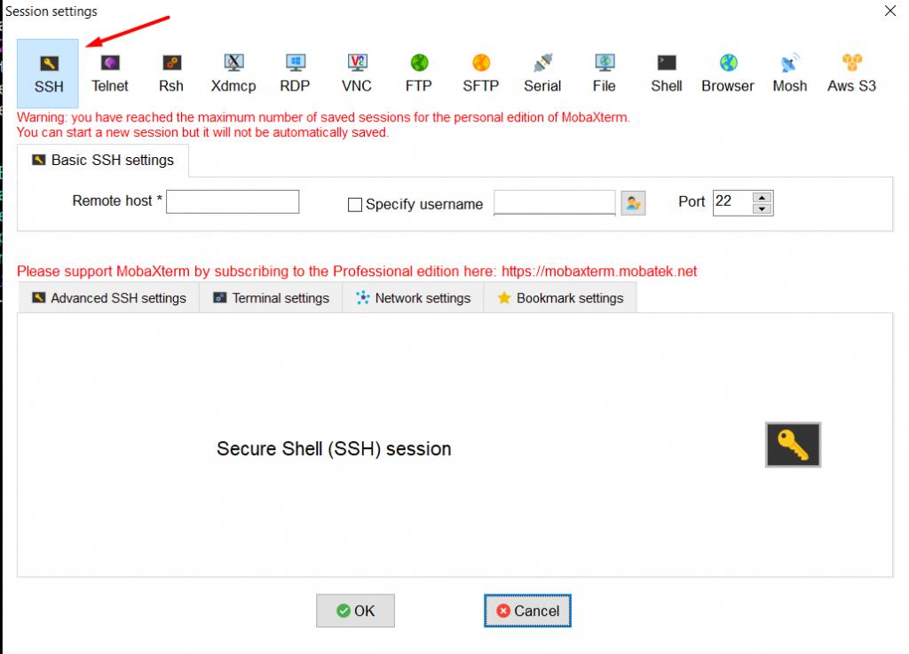 Hướng dẫn sử dụng MobaXterm để SSH vào server linux 18