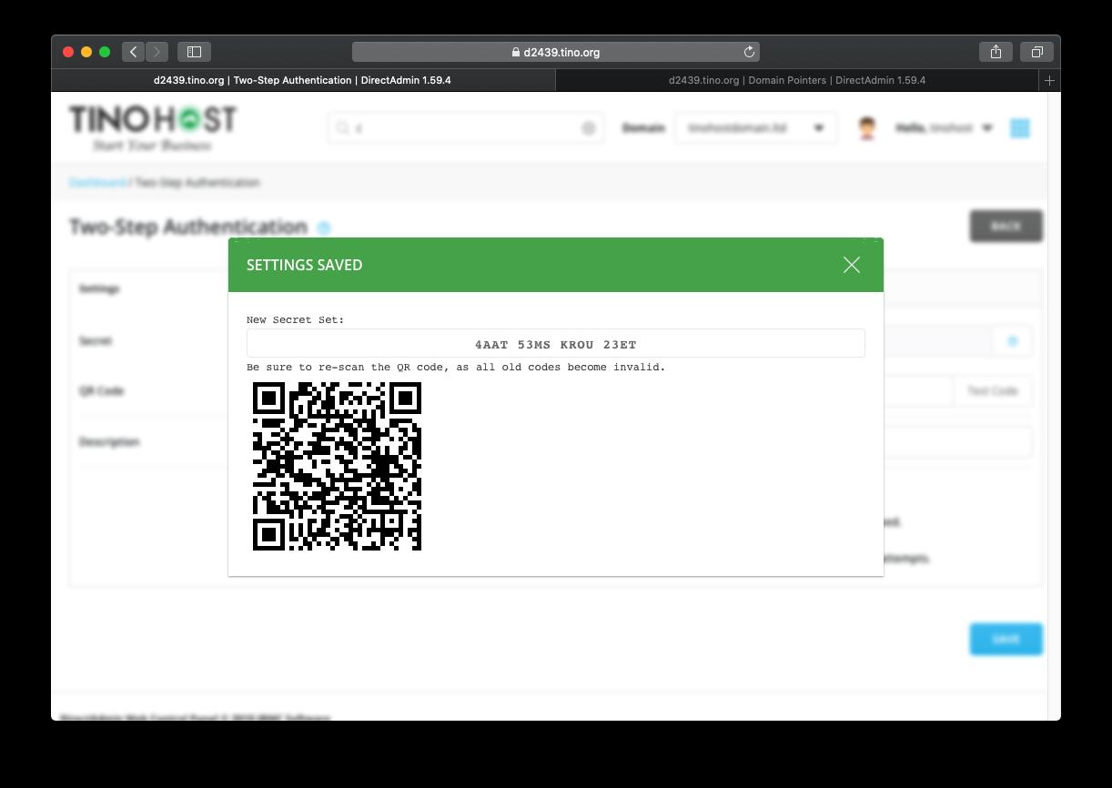 [DirectAdmin] - Hướng dẫn bật đăng nhập hosting DirectAdmin xác thực qua Google Authentication 12