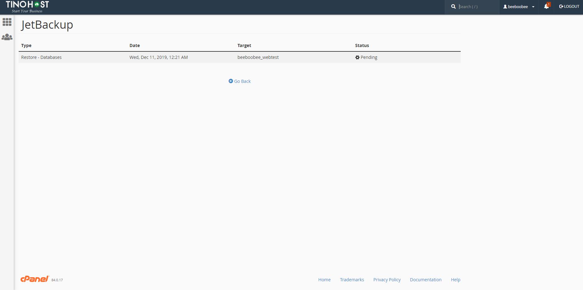 [cPanel] - Kiểm tra tiến trình Queue trong JetBackup 4