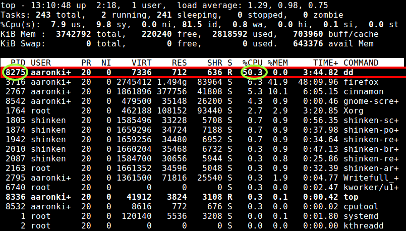 Limit Process CPU to 50% Usage