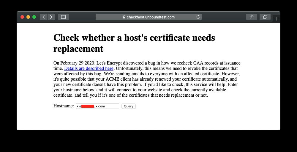 Let's Encrypt Thu hồi một số chứng chỉ SSL vào 05/03/2020 13