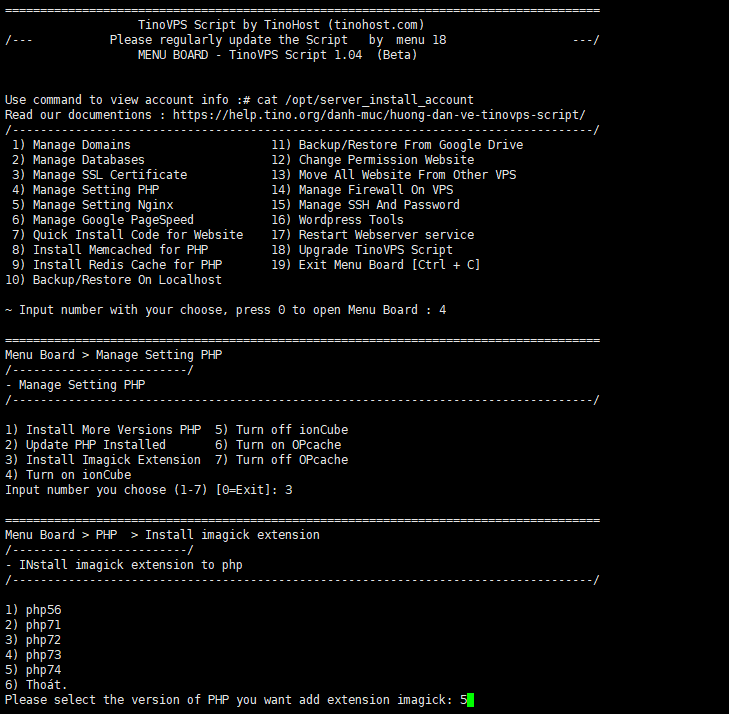 Install Imagick Extension - Cài đặt Extension Imagick cho php 6