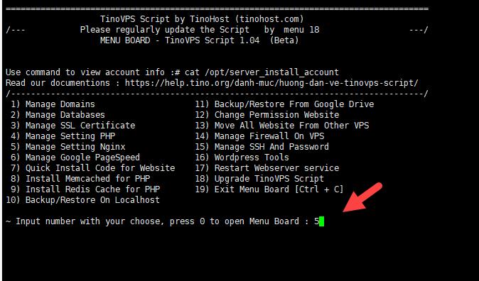 Rebuild Vhost Login Panel Page Admin – Cập nhật lại các Vhost nginx cho trang admin và core nginx 4