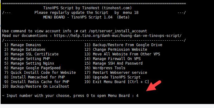 Turn on OPcache - Cài đặt Extension OPcache cho php trên TinoScript 4