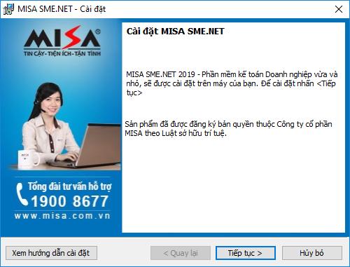 Hướng dẫn cách cài đặt phần mềm MISA 2021 13