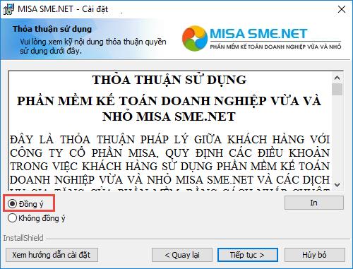 Hướng dẫn cách cài đặt phần mềm MISA 2021 14